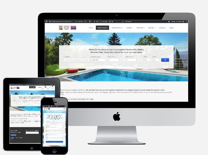 Real Estate Websites IDX Homefinder